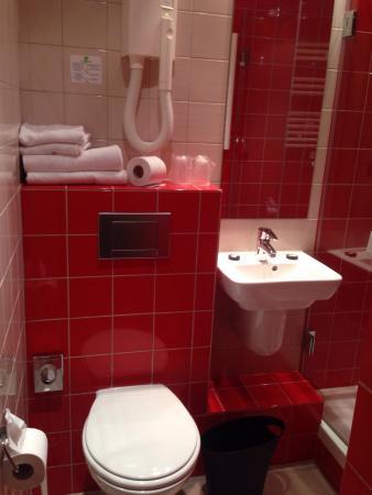 Libertel Gare du Nord Suède : Il bagno