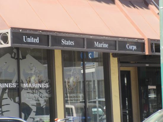 United States Marine Corp Recruiting Office, Shattuck Avenue ...