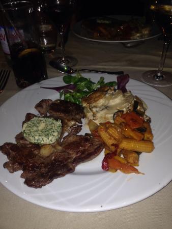 Hotel Les Airelles: Dinner