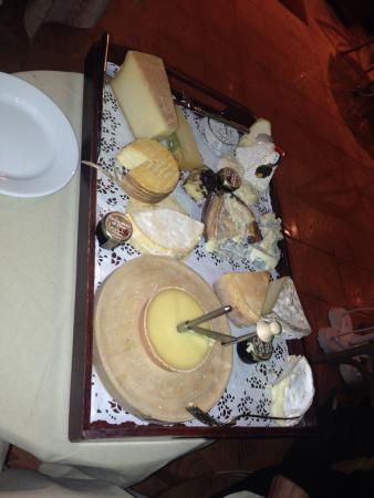 Hotel Les Airelles: Cheese board