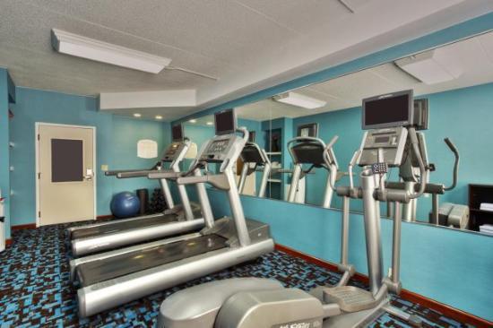 Fairfield Inn Ann Arbor : 24 Fitness Center
