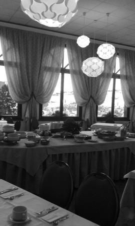 Hotel Salegg: Vista sala colazioni