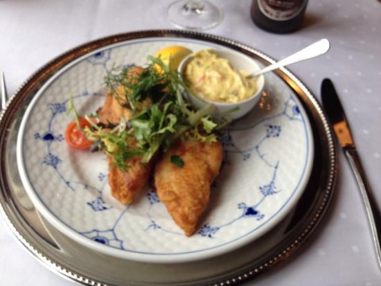 Brondums Hotel Restaurant: Our lunch.