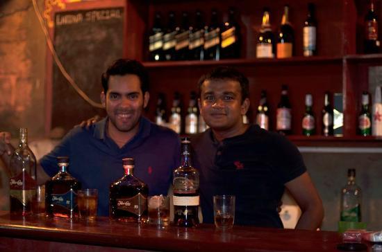 Latina Hostal: Rum tasting #ThebestrumismadeinNICAragua #savethenight