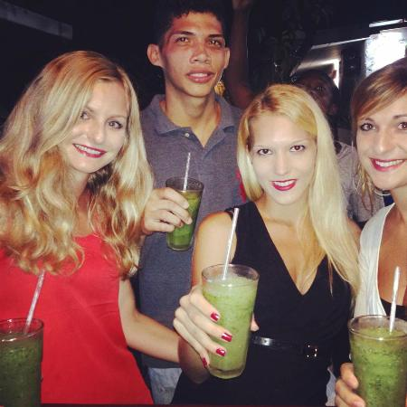 Latina Hostal: mojito's night