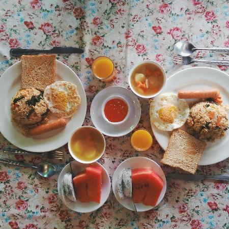 Baan Pai Nai Wieng : Beautiful home made breakfast