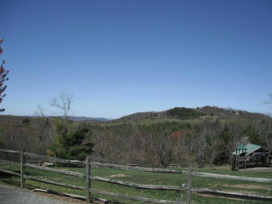 Floyd, VA: the view