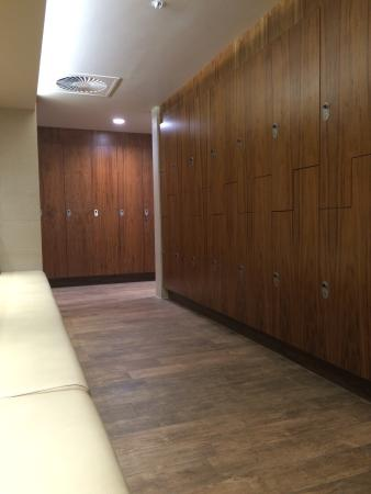 Woodland Spa Changing Rooms