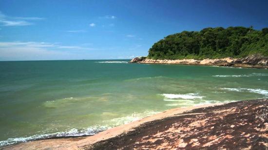 Peruibe, SP: Praia de Parnapuã