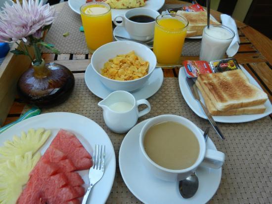 Le Piman Resort: petit dej