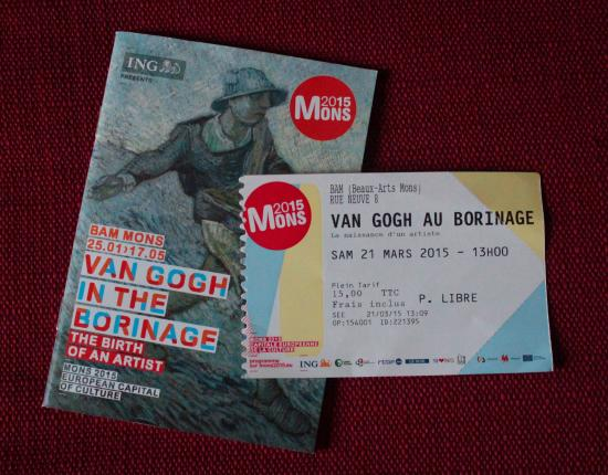Museum of Fine Arts (Musee des Beaux-Arts): Ticket and booklet