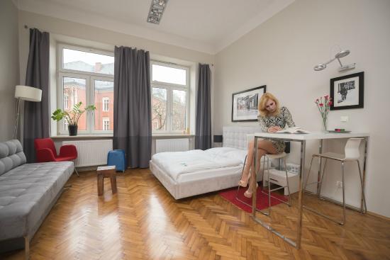 Novum House: studio apartment