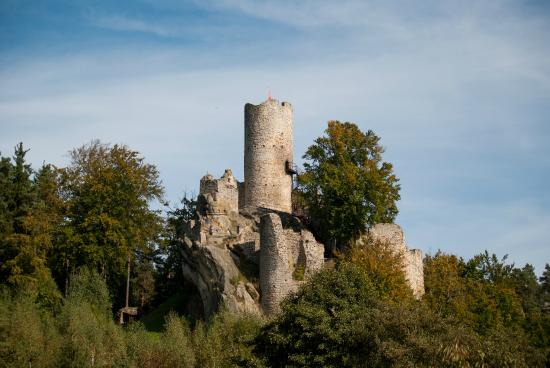 Frydstejn, Tschechien: Hrad Fridstejn