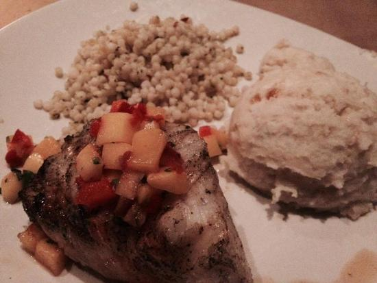 Bonefish Grill: No veggies- two starches?