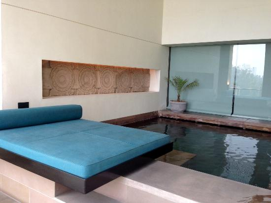 The Lodhi: in-room plunge pool