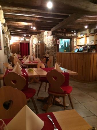 Turckheim, Fransa: Salle de restaurant