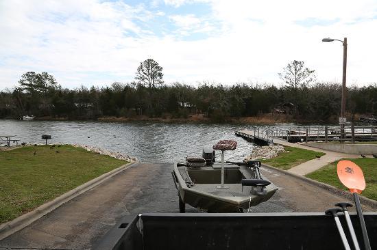 South Shore Park on Lake Bastrop: Boat Laoding