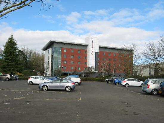 International Hotel Telford: View from the car park