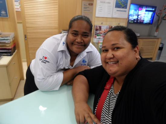 โฮเต็ลเลอลากอน: Made a new friend, Kika, who works at the reception.