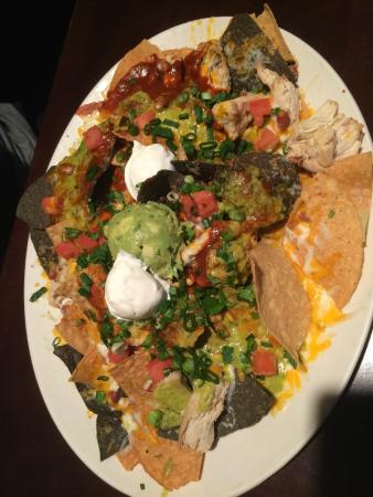 Chicken Nachos On The Appetizer Menu Picture Of Yard