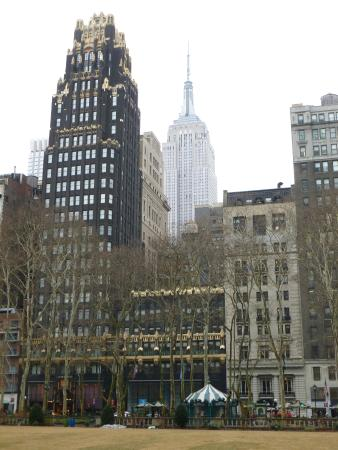 The Bryant Park Hotel With Empire State Building 6 Blocks Away