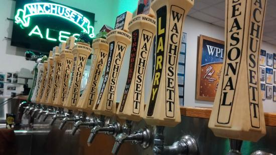 Wachusett Brewing Company: Stop by the taps and fill a growler or a NEW 32oz can...watch it get seamed right before your ey
