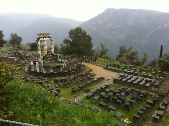 Attica, Grecia: Delphi