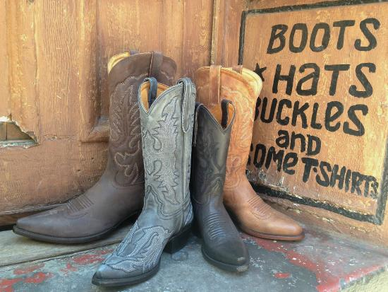 Handmade All leather Planet Cowboy Boots in Stock - Picture of