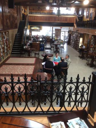 Midtown Scholar Bookstore: A view from upstairs