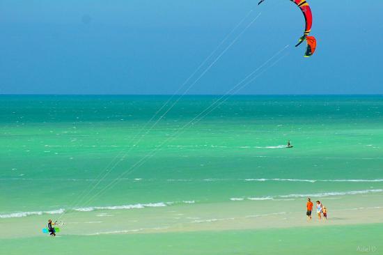 Holbox Kiteboarding School by Casa Las Tortugas: Kite spot
