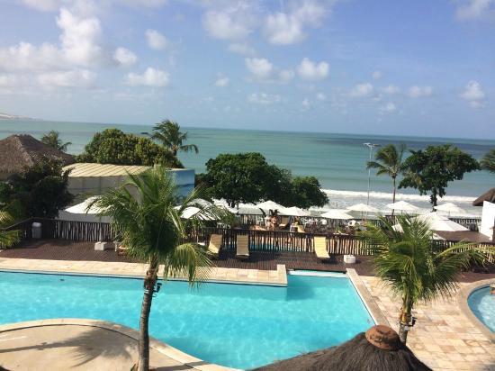 D Beach Resort: AREA VISTA DA JANELA DA RECEPÇÃO