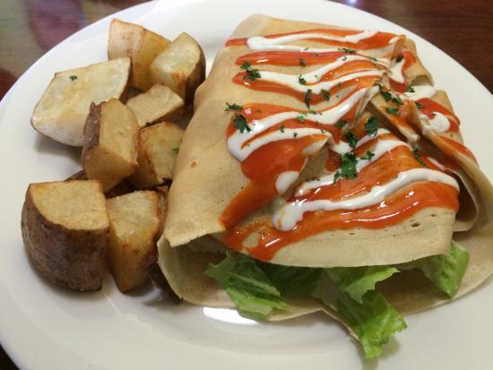 Savory & Sweet: Delicious Buffalo Crepe