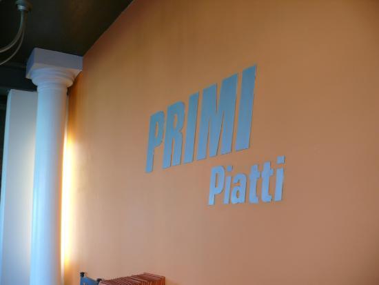 Primi Piatti: sign