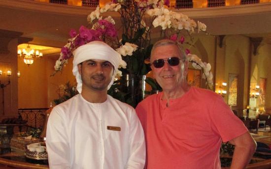 Shangri-La Hotel, Qaryat Al Beri, Abu Dhabi: Arabic coffee from Ghulam