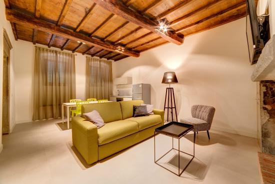 Palazzo Mannaioni Suites: Living room