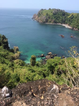 San Jose Island, Panama: atv ride