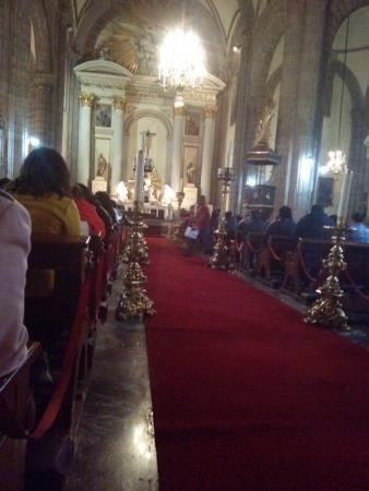 The Cathedral is a 3 minutes from the Hotel Amigo Zocalo