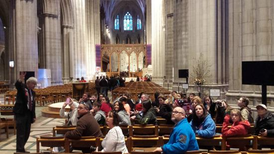 Washington National Cathedral: On the tour