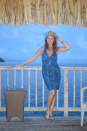 Maitai Polynesia Bora Bora: Balcony view