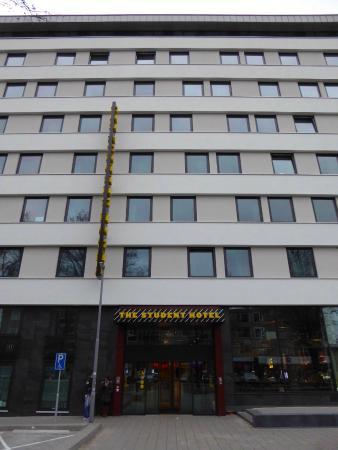 The Student Hotel Rotterdam: Eingangsbereich