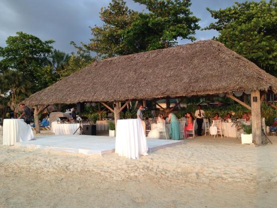 Beaches Negril Resort Spa The Quaint Wedding Reception