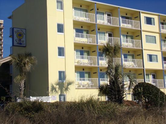 Jade Tree Cove Resort : The condos from the beach