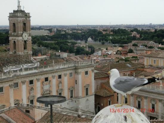 vista do Roma dal Cielo Terrazza delle Quadrighe - Picture of Roma ...