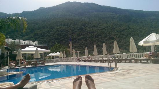 Hotel Morina: sun bathing