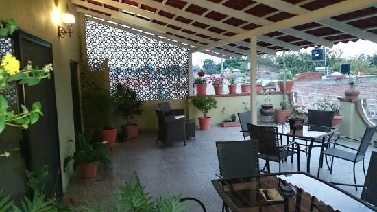 Casa Amable: Terraza planta alta