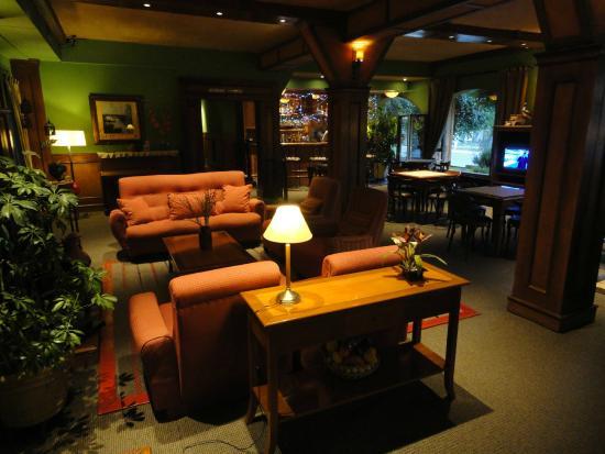 Quijote Hotel: Salón de estar