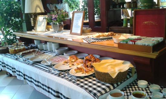 Quijote Hotel: Parte del desayuno