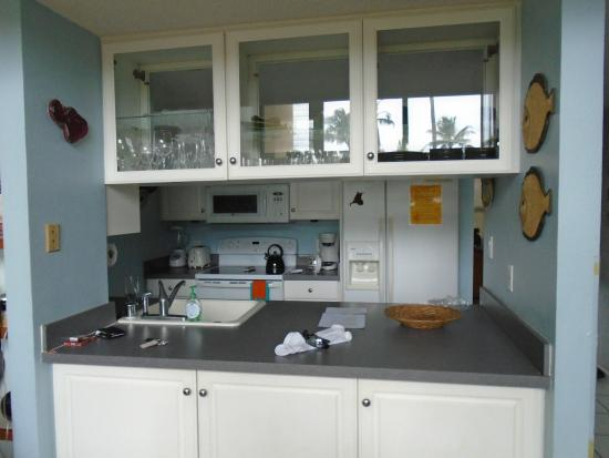 Kihei Garden Estates: Here is the galley-style kitchen.