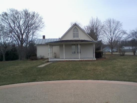 Grant Woods American Gothic House In Eldon Iowa