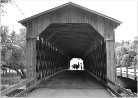 Cedarburg Covered Bridge : Puente